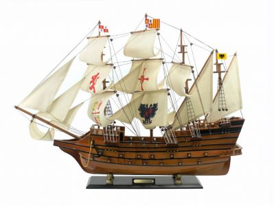 Wooden Mel Fisher\'s Atocha Limited Model Ship 34\