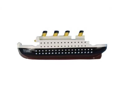 RMS Titanic Wooden Model Ship Decorative Kitchen Magnet 4\