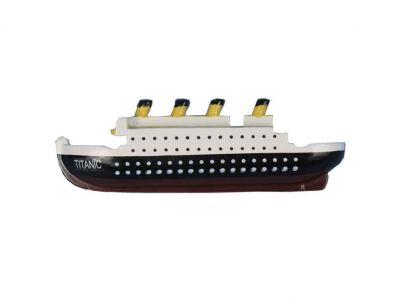 RMS Titanic Wooden Model Ship Decorative Kitchen Magnet 4\