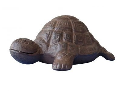 Rustic Cast Iron Turtle 6