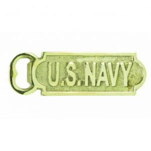 Solid Brass US Navy Bottle Opener 5