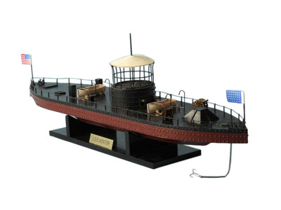 Monitor Limited Civil Warship Model 21""