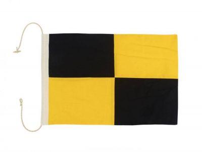 Letter L Cloth Nautical Alphabet Flag Decoration 20\