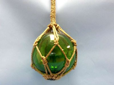Green Nautical Glass Float 11