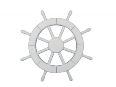 White Ship Wheel 18