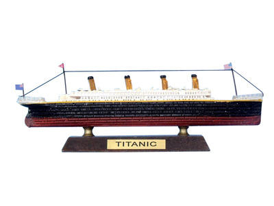 RMS Titanic Limited Model Cruise Ship 7\