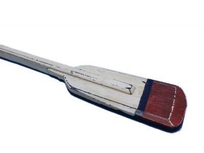 Wooden Hayden Squared Rowing Oar w- Hooks 36