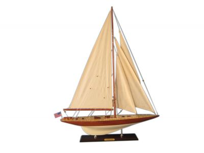 Wooden Lionheart Limited Model Sailboat Decoration 35""