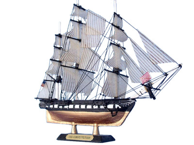 USS Constitution Limited Tall Model Ship 7\
