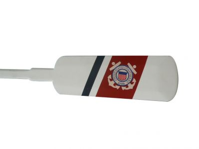 Wooden United States Coast Guard Decorative Rowing Oar 62