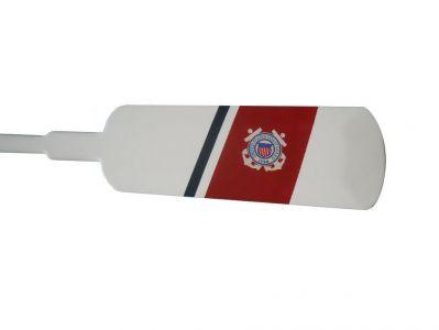 Wooden United States Coast Guard Decorative Rowing Oar w- Hooks 36