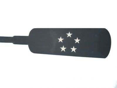 Wooden Admirals Squared Rowing Oar with Hooks 62