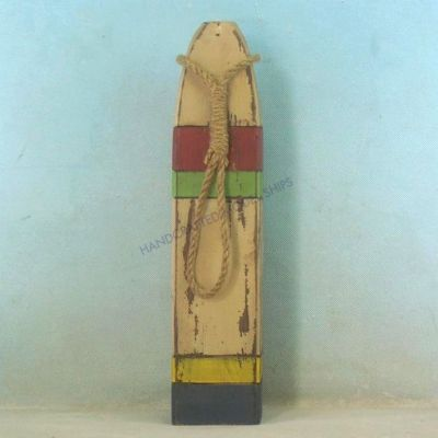 Wooden Multi-Color Buoy 24