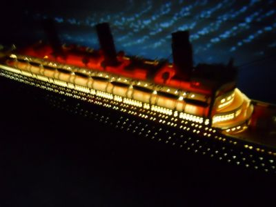 RMS Titanic Limited  50 w- LED Lights