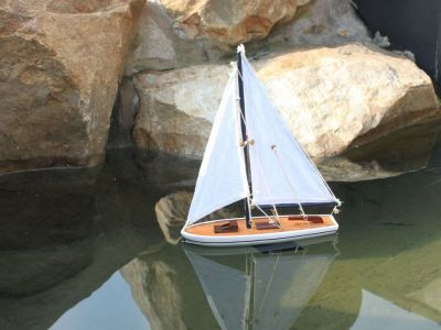 It Floats 12 - Blue Floating Sailboat