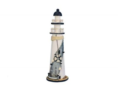 Wooden Rustic Sandy Cove Decorative Lighthouse 15\