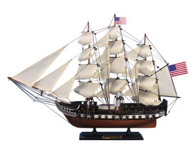 Wooden USS Constitution Tall Model Ship 24\