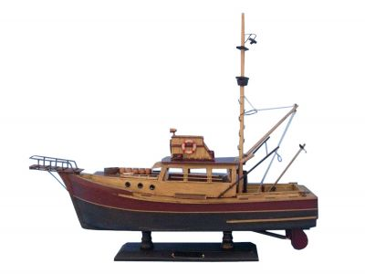 Wooden Jaws - Orca Model Boat 20""