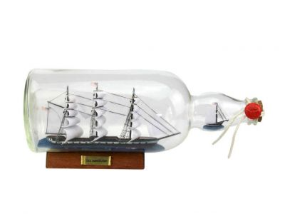 USS Constitution Model Ship in a Glass Bottle 11\