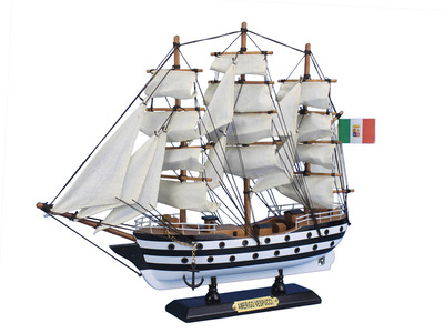 Wooden Amerigo Vespucci Tall Model Ship 15""