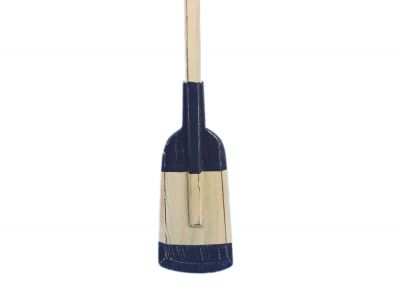 Wooden Rustic Seabrook Squared Rowing Oar with Hooks 50