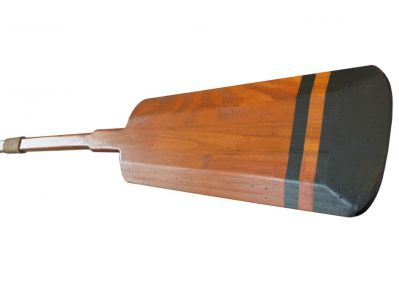 Wooden Bridgeport Squared Rowing Oar with Hooks 50