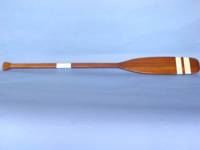 Wooden Bay Area Touring Rowing Oar w- Hooks 50