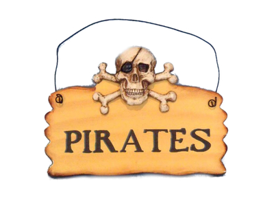 Wooden Pirates Sign 8