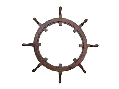 Wooden Ship Wheel Frame 36