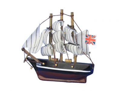 Wooden Cutty Sark Tall Model Clipper Ship Magnet 4\