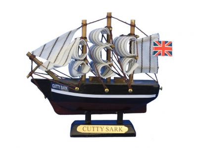 Wooden Cutty Sark Tall Model Clipper Ship 4\