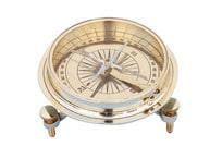Solid Brass Desktop Compass 5