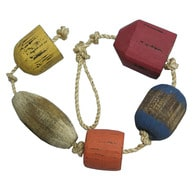 Wooden Buoys on a Rope 37