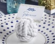 Nautical Cotton Rope Place Card Holder 2 - Set of 6