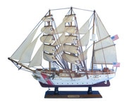 "United States Coast Guard USCG Eagle Tall Model Ship 21"" picture"