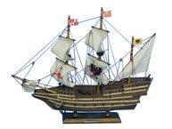Wooden Mel Fisherandapos;s Atocha Model Ship 14