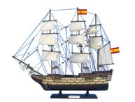 Wooden Santisima Trinidad Tall Model Ship 20