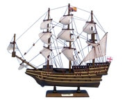 Wooden Sovereign of the Seas Tall Model Ship 14