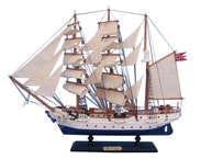 Wooden Christian Radich Tall Model Ship 20