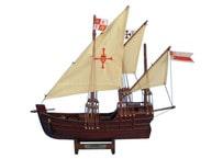 Wooden Nina Model Ship 12