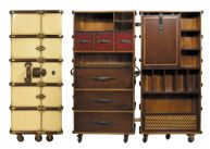 Stateroom Armoire, Ivory 51