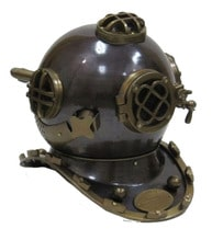 Aluminum Mark V Divers Helmet 18