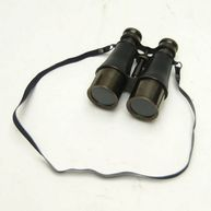 Captains Antique Solid Brass Binoculars 6