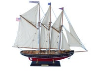 "Wooden Atlantic Limited Model Sailboat 25"" picture"