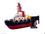 Ready To Run Remote Control Model Harbor Tugboat 24