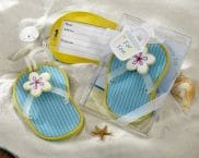 Flip-Flop Luggage Tag with Beach-Themed Gift Box 4