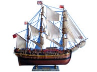 Wooden HMS Endeavour Limited Model Ship 30