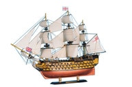 "HMS Victory Limited Tall Model Ship 21"" picture"