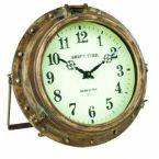 Iron Rustic Porthole Clock 9