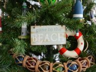 Gone to the Beach Christmas Tree Ornament